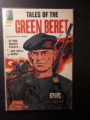 Tales Of The Green Beret  # 1   (1967)    Comics