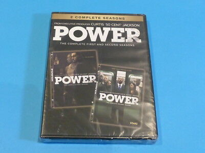 Power The Complete First And Second Season Dvd New