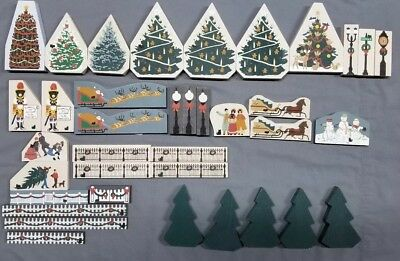 Lot of Cats Meow 37 Pieces Christmas/Winter