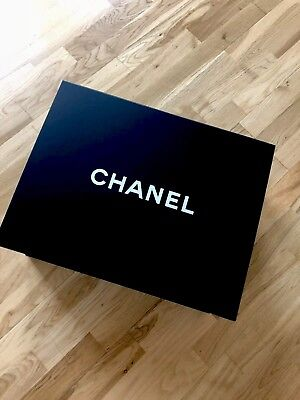 Authentic Chanel Large Magnetic Box 16 Inches
