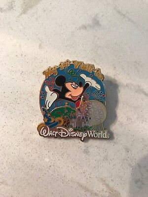 Disney World First Visit Disney Trading Pin Brand New 2009 Mickey Mouse