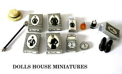 Vintage Style Gents Items           Dolls House Miniatures
