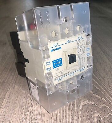 Brand New!!! Mitsubishi 200-240 V Magnetic Contactor (#S-N50)