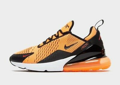 new product 31b6e 16e0d Nike Air Max 270 - Orange   Black With Red Detailing - Men s 7 8 9