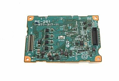 Sony PMW-EX3 EX3 Replacement Part RE-261 Board