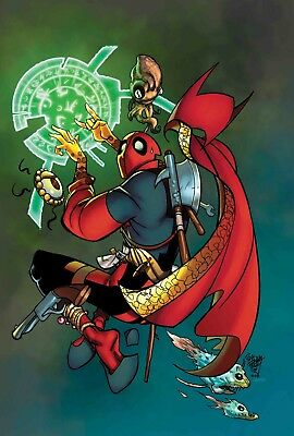 Doctor Strange #390 Deadpool Variant - Marvel Legacy - Boarded. Free Uk P+P!