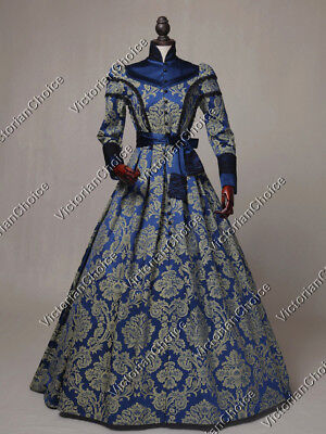 Victorian Dickens Christmas Party Game of Thrones Queen Dress Theater C021 XL