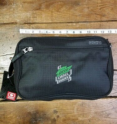 NEW Ogio Computer Tablet Bag Mountain Dew Black Label Soda Advertising RARE