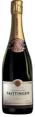 Taittinger Brut Reserve NV Champagne 750mL ea - Sparkling Wine - Origin France