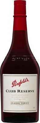 Penfolds Club Reserve Tawny 750mL ea - Fortified Wine - Origin Australia