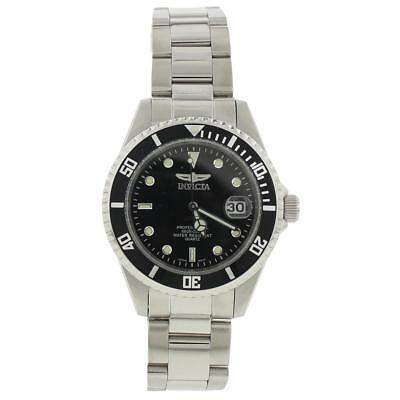 Invicta Mens Pro Diver Silver Stainless Steel Wristwatch O/S BHFO 7455