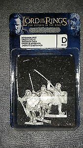 Games Workshop: Lord of the Rings Blister -  Morannon Orcs GW LOTR New Metal