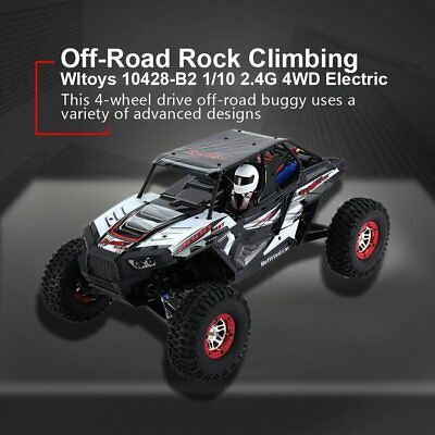 WLtoys 10428 - B 1:10 4WD RC Auto Buggy Monster Truck 50km/h - RTR Off-Road*3