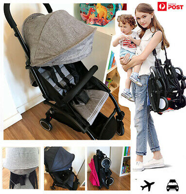 2019 Compact Lightweight Baby Stroller Jogger Pram Carry on Luggage Travel Plane