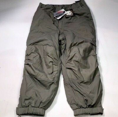 GEN III Level 7 Pants Large Regular ECWCS Grey Primaloft Cold Weather NO TAGS