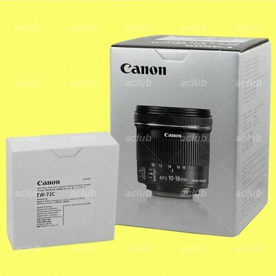 Canon EF-S 10-18mm f/4.5-5.6 IS STM Lens with Canon EW-73C Lens Hood