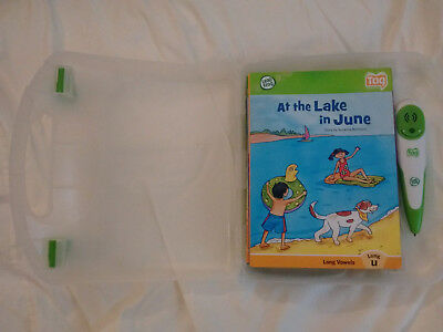 LEAPFROG TAG ~ Reader Pen / Carrying Case / 13 Books * LOT * Grammar Reading Fun