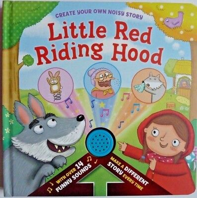 Little Red Riding Hood Sound Book With Over 14 Funny Sounds Kids Ages 0 Months+