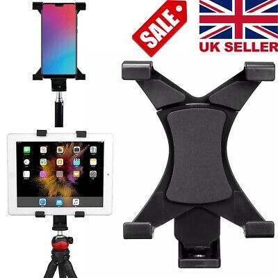 Tripod Mount Holder Bracket 1/4''Thread Adapter For 7''~10.1'' Tablet PC iPad UK