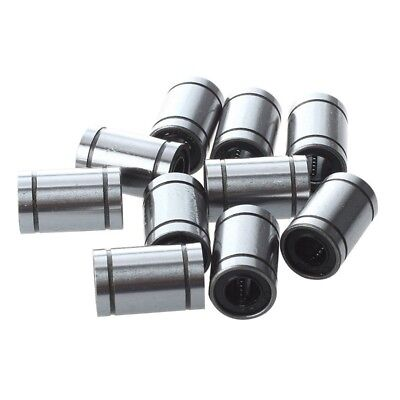2X(Ball Bushing Linear Motion 8mm x 15mm x 24mm Double Sealed 10 Pcs A6M9)