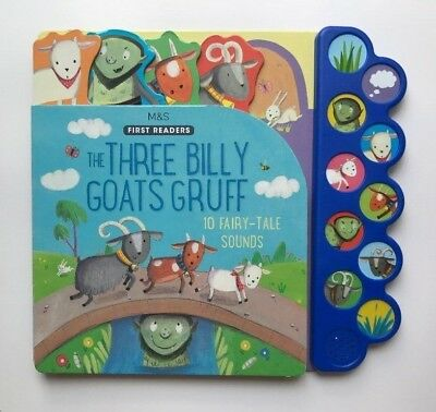 The Three Billy Goats Gruff Sound Book With 10 Fairy-Tale Sounds Ages 0 Months+