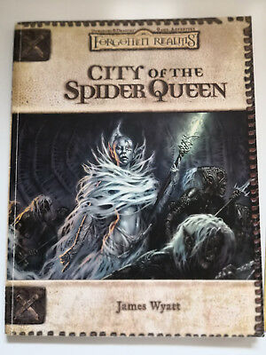 City of the Spider Queen, Forgotten Realms / Dungeons & Dragons. D&D dnd