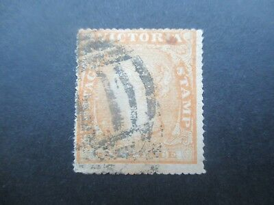 Victoria Stamps: 6d Perforated  Used  - Great Item    (z79}