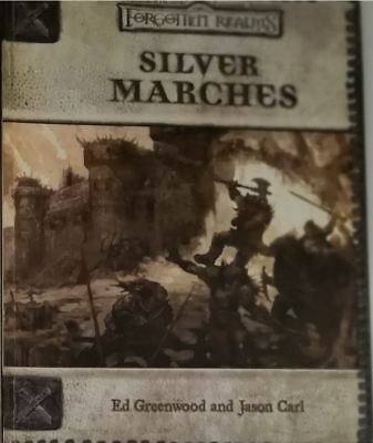 Forgotten Realms Silver Marches D&D dnd