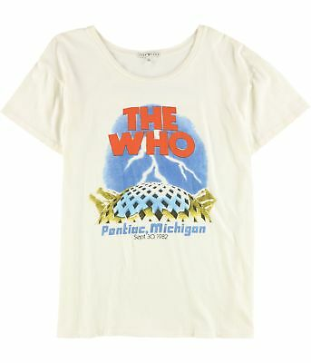 Junk Food Womens The Who Graphic T-Shirt