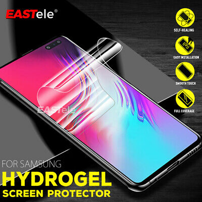 EASTele Samsung Galaxy S10 S9 S8 Note 9 HYDROGEL AQUA FLEX Full Screen Protector