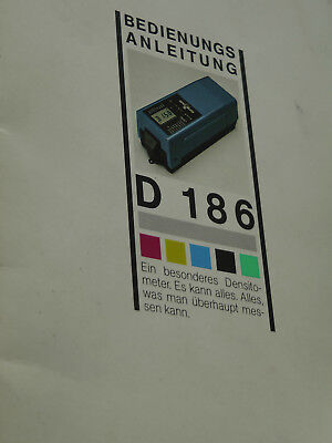 GRETAG Densitometer D 186