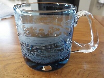 Wedgwood Glass Tankard 'graf Zepplin' 50Th Anniversary Ltd Ed154