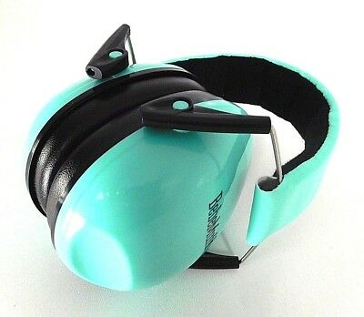 BEBE Muff Hearing Protection Noise Reduction Ear Muffs Teal