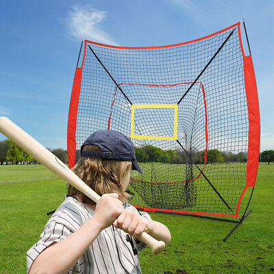 HLC Baseball Tennis Training Net T-Ball Practice Outdoor Sports Xmas Gift 211cm