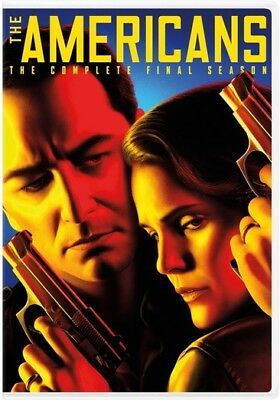 The Americans: The Complete Sixth Season (DVD,2018)
