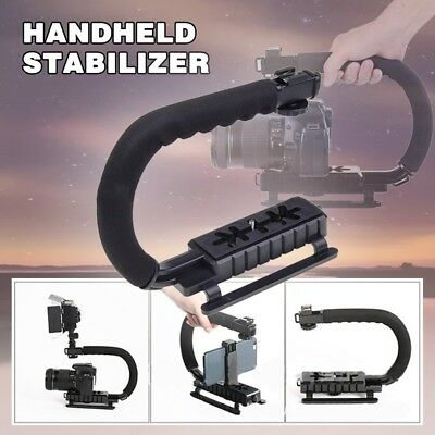 C-Shape Bracket Handheld Video Stabilizer Steadycam For DSLR Camera DV Camcorder