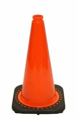 "18"" Orange Traffic Safety Cones with Black Base Pack of 12"