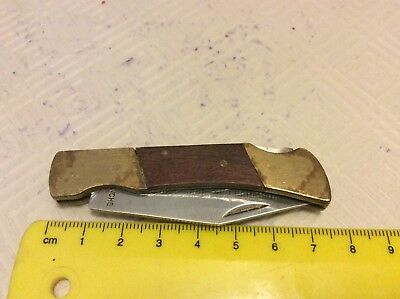 Vintage Comanche Folding Knife