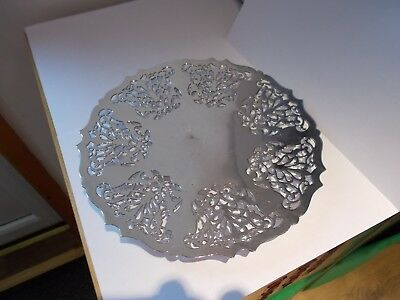 Mappin and Webb Silver Plate Cake Tray