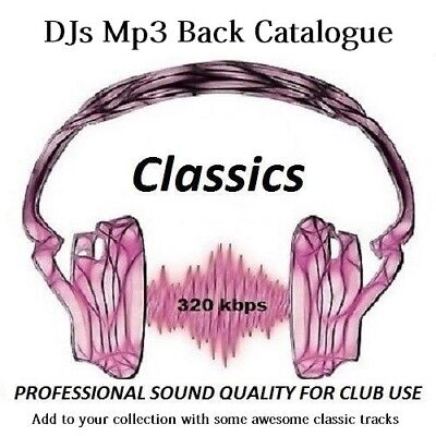 House Classics (Part 1) Mp3 DJ Collection Pro 320 kbps (From Far Back as 1990s)