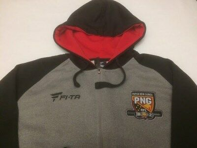 PNG PaPua New Guinea Rugby League Team RFL Hoodie Adult 2XL
