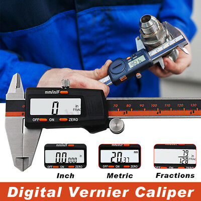 6 Inch Digital Vernier Caliper Stainless Steel 150mm Micrometer Electronic Tool