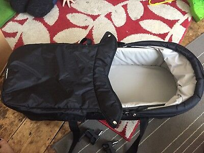 Baby Jogger City Mini Bassinet Carry Cot In Black