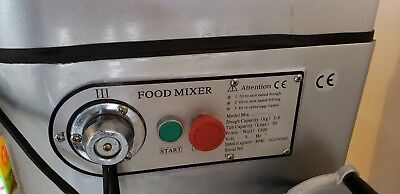 Commercial stainless steel food mixer 50L (30 QT), only used few times.