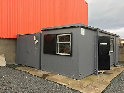 29 x 9 Foot shipping container office