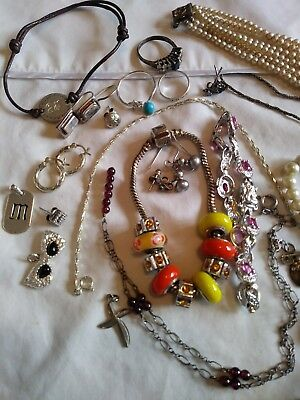 156 Grams Sterling Silver 925 Jewelry Lot