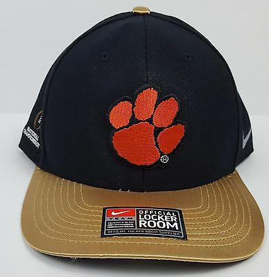 best service f68d3 98bf8 ... greece nike 2016 college national champions football cfp clemson tigers  coach hat gold 977af 4392c ...