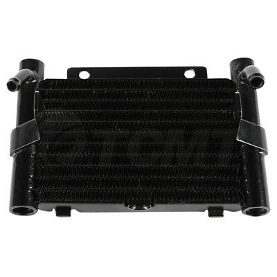 Black Oil Cooler For Harley Touring Electra Glide Ultra Classic FLHTCU 2017-2018
