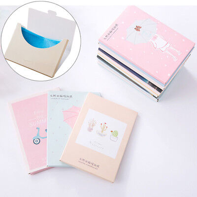 Papers Makeup Cleansing Oil Absorbing Face Paper Korea Cute Cartoon Absorb LMDE