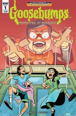 HCF 2018 GOOSEBUMPS MONSTERS AT MIDNIGHT #1 (IDW 2018 1st Print) COMIC